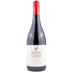 Snobs Creek Estate The Artisan Heathcote Shiraz 2015