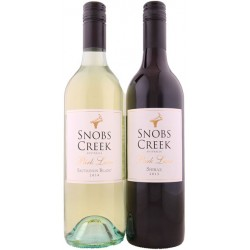 Snobs Creek Estate Park Lane Shiraz 2013 Sauvignon Blanc 2014 Mixed Dozen